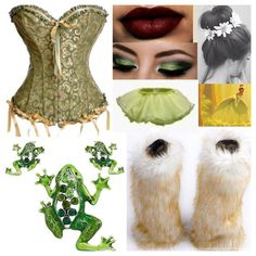 My princess and the frog princess Tiana halloween costume idea. So excited for halloween!!