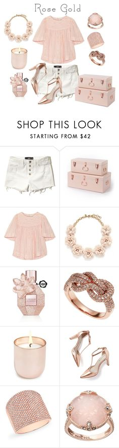 """Rose Gold Jewelry"" by hideous ❤ liked on Polyvore featuring Hollister Co., Étoile Isabel Marant, J.Crew, Viktor & Rolf, Effy Jewelry, Jonathan Adler, Boden, Anne Sisteron, Lavish by TJM and contest"