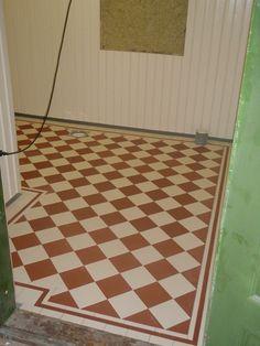 Victorian Floor Tiles.