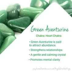 Green Aventurine crystal meaning