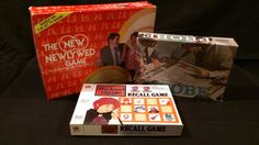 3 Lot Vintage Board Game Probe The Lord of The Rings Recall New Newlywed Game | eBay