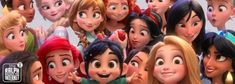 Disney Princess in Wreck it Ralph 2