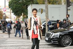 Paris Fashion Week - Street Style   Teen Vogue