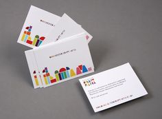 identity design by because studio for manchester craft mafia - Craft Business Cards
