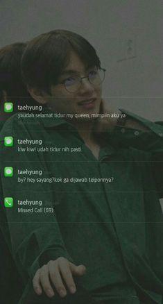 Taehyung Wallpaper, Kpop Wallpaper, Message Wallpaper, Boyfriend Kpop, Boyfriend Quotes, Kim Daily, Chat Line, Bts Texts, Jungkook Aesthetic