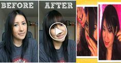 super trick to cut your own bangs fringe - Lavish Trend