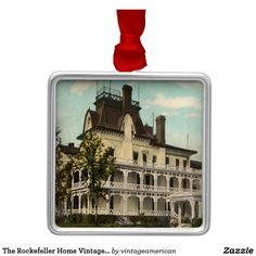 The Rockefeller Home Vintage Ornament