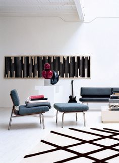 Great furniture and room shots by Swiss design Atelier Pfister