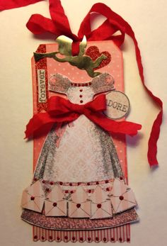 2014 Valentine Tag Swap - stamps by Catherine Moore's Character Constructions