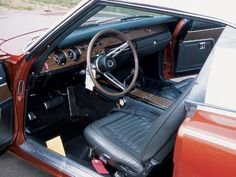 Charger interior - I do miss it.