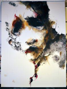 Eric Lacombe,  textura , color , forma, expresión.....