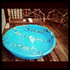 I am petite, at the age of 33, I can still fit in a kid's pool. Got this last summer for sunbathing while reading a good book on my deck.
