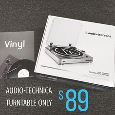 Attention all lovers of vinyl! This Audio-Technica turntable is only $89 for a limited time 🎶 Stop by and grab one for yourself, one for Father's Day and one for the graduate in your life! #dadsandgrads #fathersday #graduation #audiotechnica #vinyl #vinylcollection #vinyllover #vinylrecords #barnesandnoble  #bncostaverde  #sandiego  #lajolla  #costaverdecenter #costaverde #lajollalocals #sandiegoconnection #sdlocals - posted by Bookstar  https://www.instagram.com/_bncostaverde. See more…