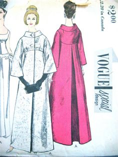 Vintage 1960s Vogue Special Design Sewing Pattern by Fancywork, $110.00