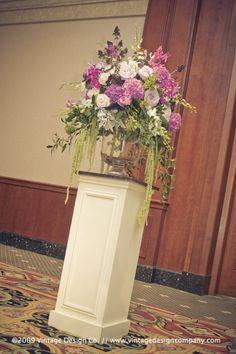 Altar Arrangements Wedding Ceremony Decor Wedding