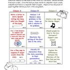 Common Core & Bloom's Taxonomy: Maniac Magee Think-Tac-Toe Middle School Ela, Middle School English, Student Teaching, Teaching Ideas, Maniac Magee, Bloom's Taxonomy, Common Core Ela, Reading Rainbow, Reading Groups