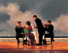 Elegy for The Dead Admiral - Jack Vettriano