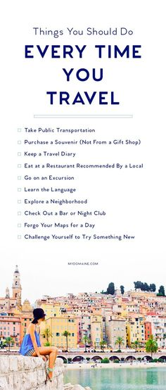 The must haves for every travel bucket list! Explore the world!!!