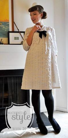 maternity style: week 20 | Elegant Musings