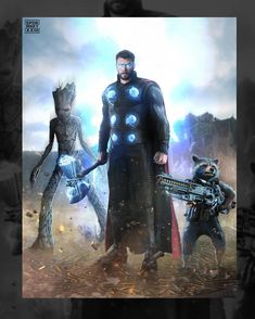 Thor's epic entrance in Wakanda with Rocket Racoon and Groot Marvel Memes, Marvel Dc Comics, Marvel Avengers, Groot Avengers, Deadpool Comics, Rocket Raccoon, Infinity War, Thor Wallpaper, Deadpool Wallpaper