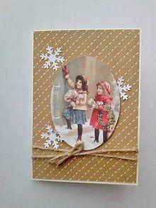 Papiernictvo - Vianočná pohľadnica - 6155012_