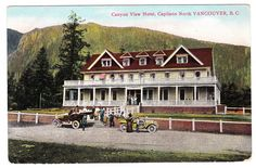 BC – NORTH VANCOUVER, Capilano, Canyon View Hotel c.1910s PPC