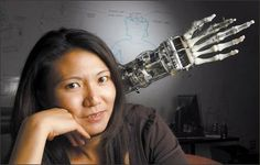 Yoky Matsuoka, Google may be signalling even more towards the development of humanoid robot systems. Her dream of creating a robotic tennis...