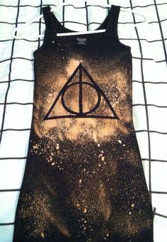 Harry Potter Deathly Hallows Bleach Shirt by BleachfestAtTiffanys ...