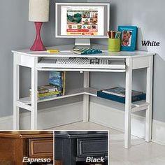 Corner Computer Desk @ Fresh Finds