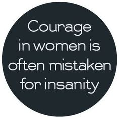 Courage in women