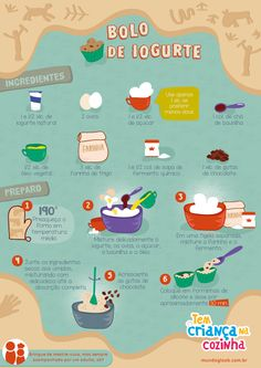 Receita: Bolo de Iogurte