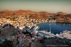 View from the castle - Lemnos Island, Lesvos