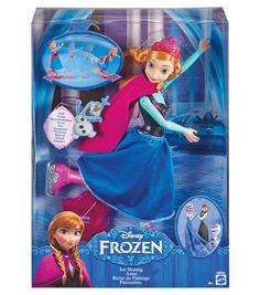 Mattel Disney Frozen Ice Skating Anna