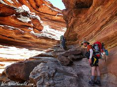 Writer in the Wild: Grand Canyon: Royal Arch Loop - Royal Arch back to...