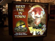 NEVADA: Order a classic shrimp cocktail at a casino restaurant in Las Vegas, the city that claims to have invented the seafood-in-a-glass appetizer in the 1950s.