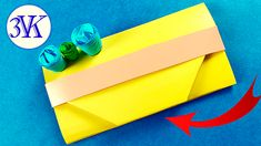 How To Make Origami Paper gift bag?