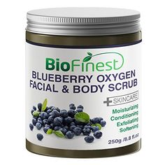 Biofinest Blueberry Oxygen Facial Scrub with Aloe Vera Amino Acids Vitamin C Essential Oils Best Antioxidants For AntiAging *** To view further for this item, visit the image link. Organic Turmeric, Organic Coconut Oil, Oxygen Facial, Organic Aloe Vera, Healthy Lifestyle Changes, Healthy Aging, Facial Scrubs, Healthy People 2020 Goals, Skin Treatments