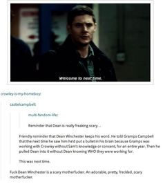 Image result for why is the supernatural fandom scary