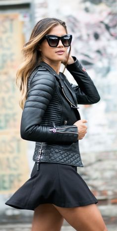 #street #fashion / Boda Skins + leather