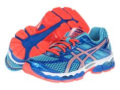 ASICS GEL-Cumulus® 15 Turquoise/Lightning/Electric Melon - need some new running shoes for motivation!