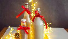 Tři recepty na vánoční likéry: karamelový, vaječný akávový Rum, Table Decorations, Anna, Rome, Dinner Table Decorations