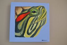 Turtle portrait #turtle #red earred slider #art