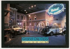 Grand Ole Opry Museum-Nashville Tennessee Postcard