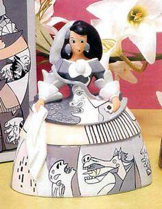 meninas - Buscar con Google Picasso, Infanta Margarita, Ceramic Figures, Sculpture, American Art, Creative Art, Design Elements, Decoupage, Disney Princess