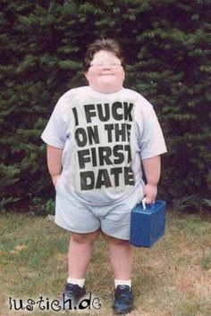 "The GTA Place - ""I Fuck On My First Date"" T-Shirt"