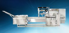 LOGIPAC 51e - HIGH SPEED #PACKAGINGMACHINE  SERVO BASED, #FORMFILL AND SEAL MACHINE FOR BISCUIT STACKED ON EDGE