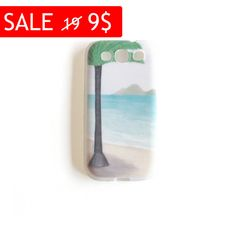 Cyber Monday Sale Beach illustration cell phone cover by liatib