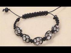 One bead Shamballa bracelet