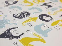 Animal Alphabet - ILOVEDUST