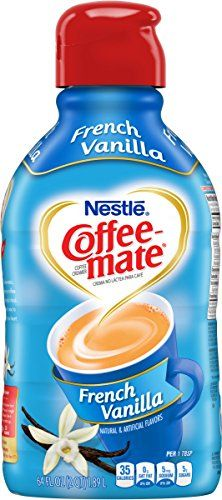 Coffee-Mate Liquid Coffee Creamer, French Vanilla, Half Gallon, 64 oz * Find out more about the great product at the image link.